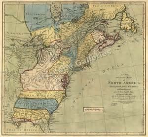 early maps 1771 early american colonies historic map 24x26 ebay