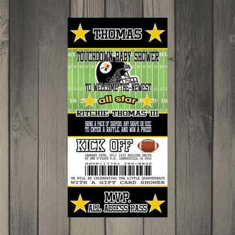 Baby Shower Pittsburgh by Pittsburgh Steelers Inspired Football Baby Shower