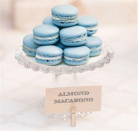 Macaron Baby Shower Favor by Blue Macarons Macaron Macaroons