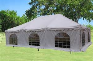 20 X 30 Canopy Tent by 30 X 20 White Pvc Pole Tent Canopy