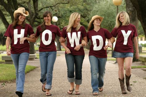 a and m traditions 187 howdy