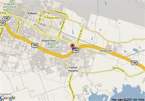 map of travelodge harker heights harker heights