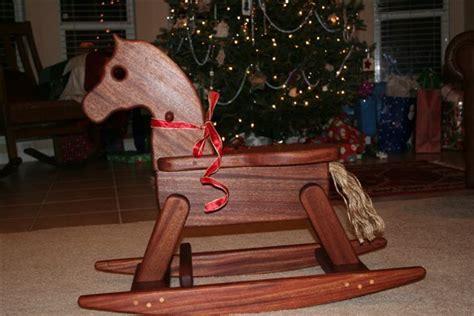build  heirloom rocking horse