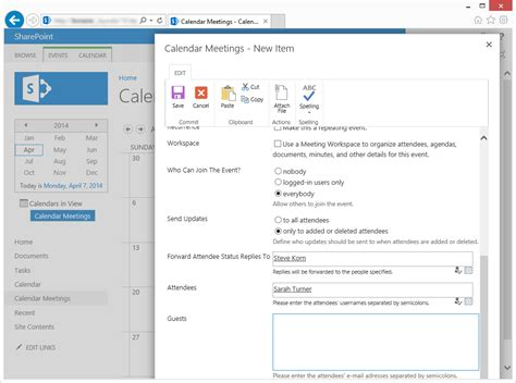 sharepoint calendar templates new calendar template site