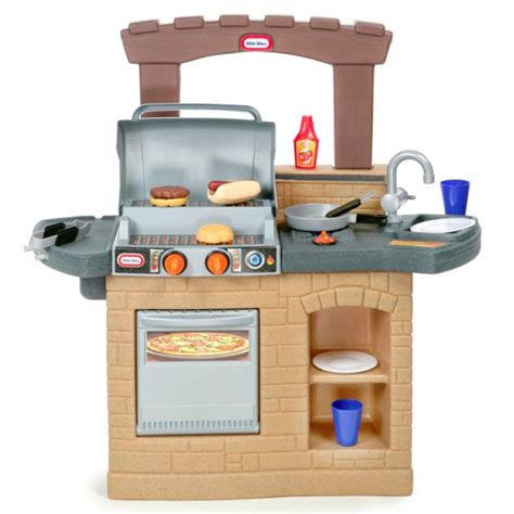 tikes cook  play outdoor bbq play kitchen buy