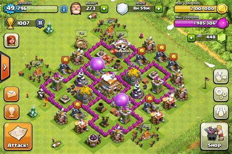 Icebob99 s strategy guides th 7 and maxing clash of clans wiki