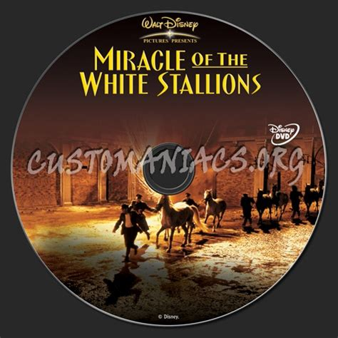 Miracle Of The White Stallions Free Miracle Of The White Stallions Dvd Label Dvd Covers Labels By Customaniacs Id 120102 Free