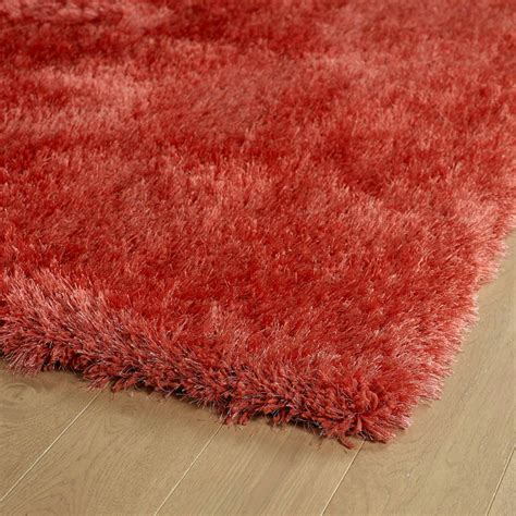 Coral Rugs by District17 Coral Posh Shag Rug Shag Rugs Solid Rugs