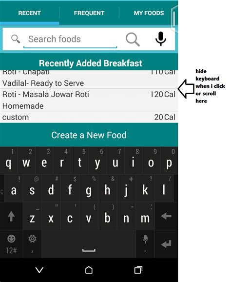 android layout hide keyboard android hide keyboard when click over the listview