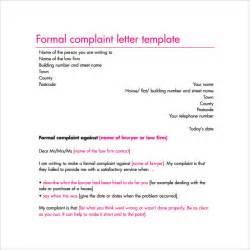 letter template complaint complaint letter 16 free documents in word pdf