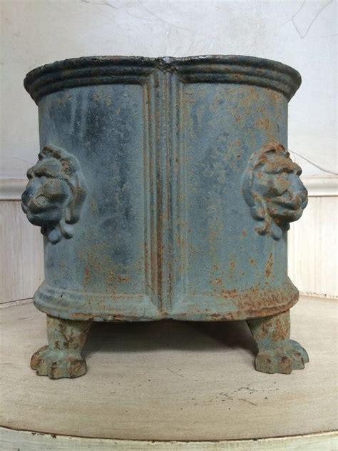 antique cast iron planter cast iron urn cast iron garden