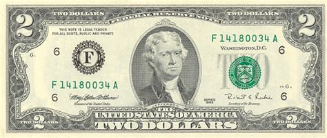 Are older two dollar bills worth more than 2 dollars, 1960
