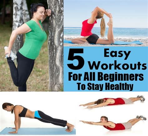 5 effective and easy workouts for all beginners to