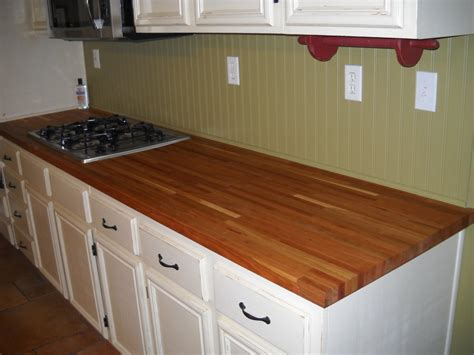 cherry butcher block counters by trimworxinc