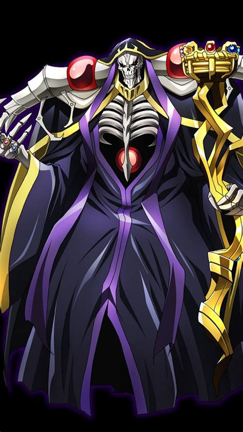 overlord anime wallpaper android overlord ainz ooal gown samsung galaxy nexus wallpaper