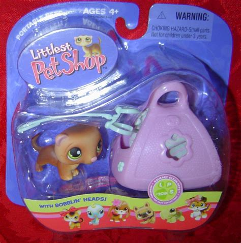 Pet Shop Singles A Ferret littlest pet shop ferret with carry 209 lps