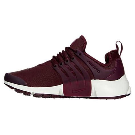 maroon athletic shoes 49 nike shoes maroon nike air presto premium