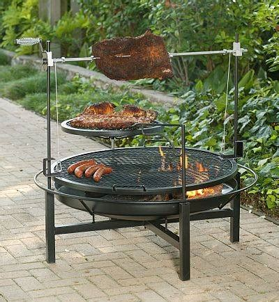 the round rock grill rotisserie and fire pit 59050x