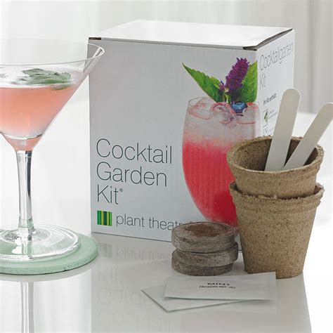 cocktail garden grow your own cocktail garden and gourmet flower by plant