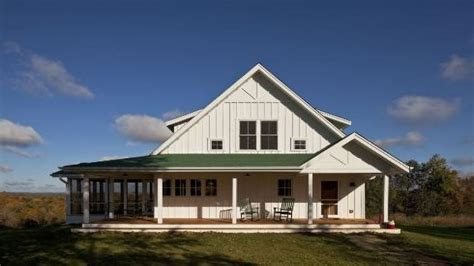 Wrap Around Porch House Plans One Story by Single Story Farmhouse With Wrap Around Porch One Story