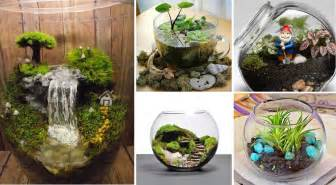Fairy Garden Container - 25 adorable miniature terrarium ideas for you to try