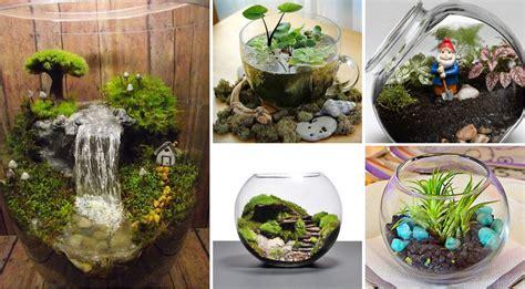 adorable miniature terrarium ideas