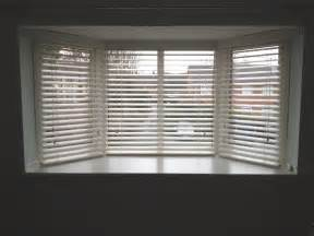 Bow Window Shades contoured wooden venetian blinds pk blinds