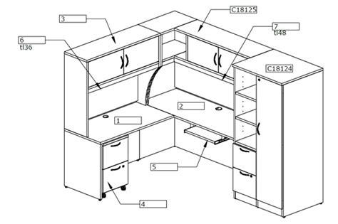 cubicle overhead storage cabinet the office leader peblo l shape office desk cubicle desk