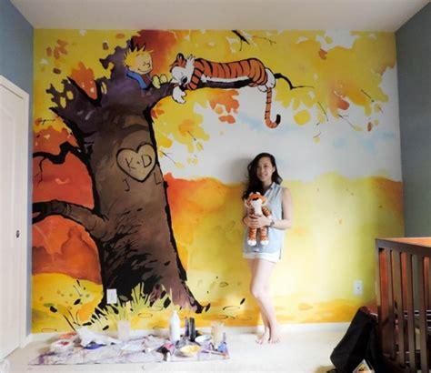 kinderzimmer wandbemalung baum wandmalerei im kinderzimmer ein entz 252 ckendes ambiente