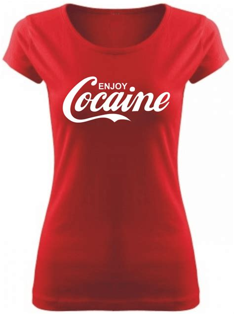 Tshirt Enjoy Cocaine t shirt enjoy cocaine s 轢 fajntri芻ko