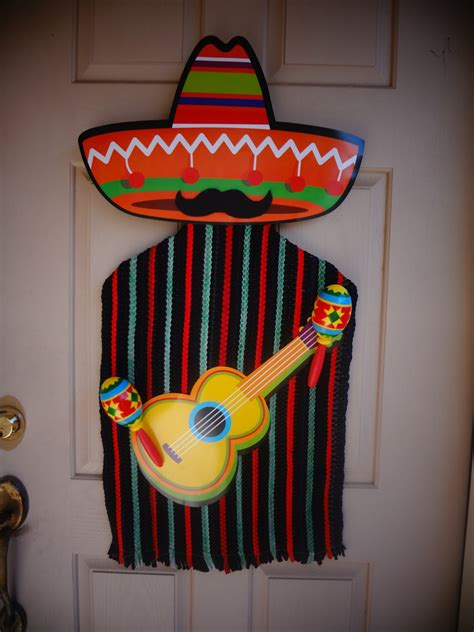 Cinco De Mayo Decorations by The Busy Broad Cinco De Mayo Door Decor