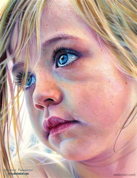 colored pencil portraits 25 hyper realistic color pencil drawings by