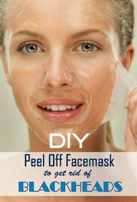 mask diy blackhead diy peel mask to get rid of blackheads