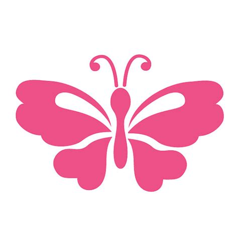 butterfly painting template butterfly stencil painting or baby room wall mural
