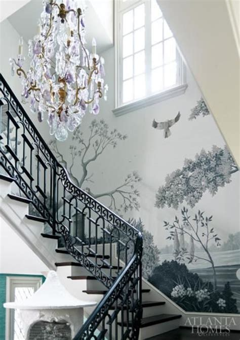 stairway chandelier 10 places to hang a chandelier in your home