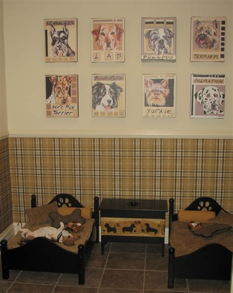 pet room ideas a fine room for fido it s a dog s life at homearama