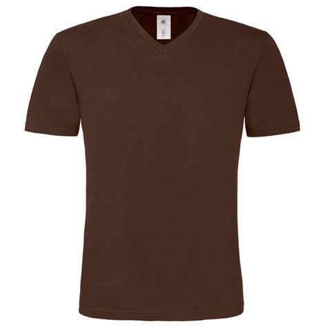 T Shirt V For B C b c t shirt heren v hals bruin themagictouch