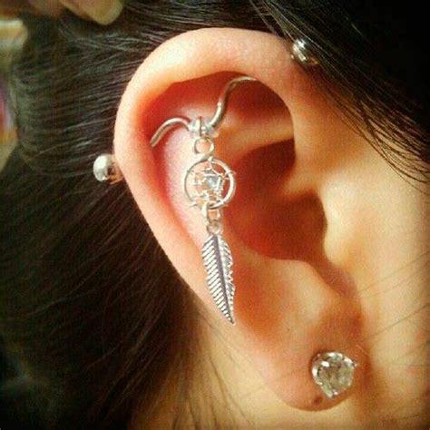 absolutely staggering top ear piercings inkdoneright com