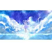 Rem ReZero Anime Girl Clouds Wallpaper 12858