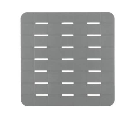 pedane doccia pedana per piatto doccia in plastica grigio con gommini