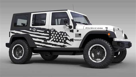 jeep flag decal product us flag theme splash graphic decal for 07