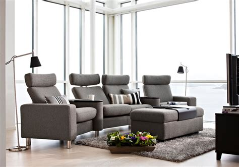room seating stressless space home theatre seating contemporary family room toronto by scan decor