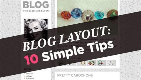 10 Blog Layout Tips ? A Beautiful Mess