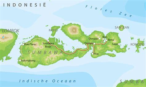 bouwsteen sunda eilanden lombok en sumbawa bij van verre