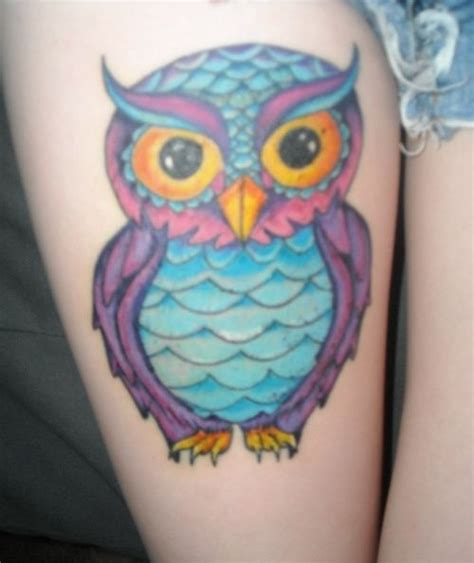 owl tattoo design color best 25 colorful owl tattoo ideas on pinterest owl