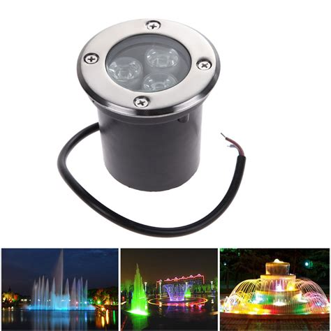 12v Dc Lighting Fixtures Led Buried Light Dc 12v 24v Waterproof Led Floor L 3w Mini Deck Light Led Underground Ls
