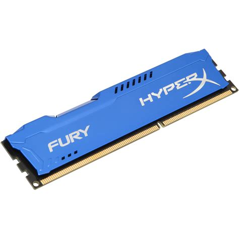 kingston 8gb hyperx fury ddr3 1866 mhz dimm memory hx318c10f 8