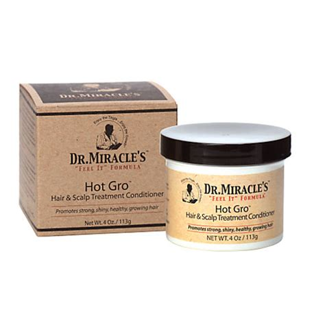 dr miracle hair dr miracle s hot gro hair and scalp treatment conditioner