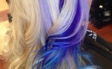 image from http www haircolorsideas com wp content 1000 images about blue streaks on pinterest purple