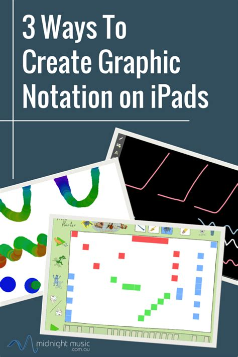 how to design graphics for apps 3 ways to create graphic notation on ipad midnight music